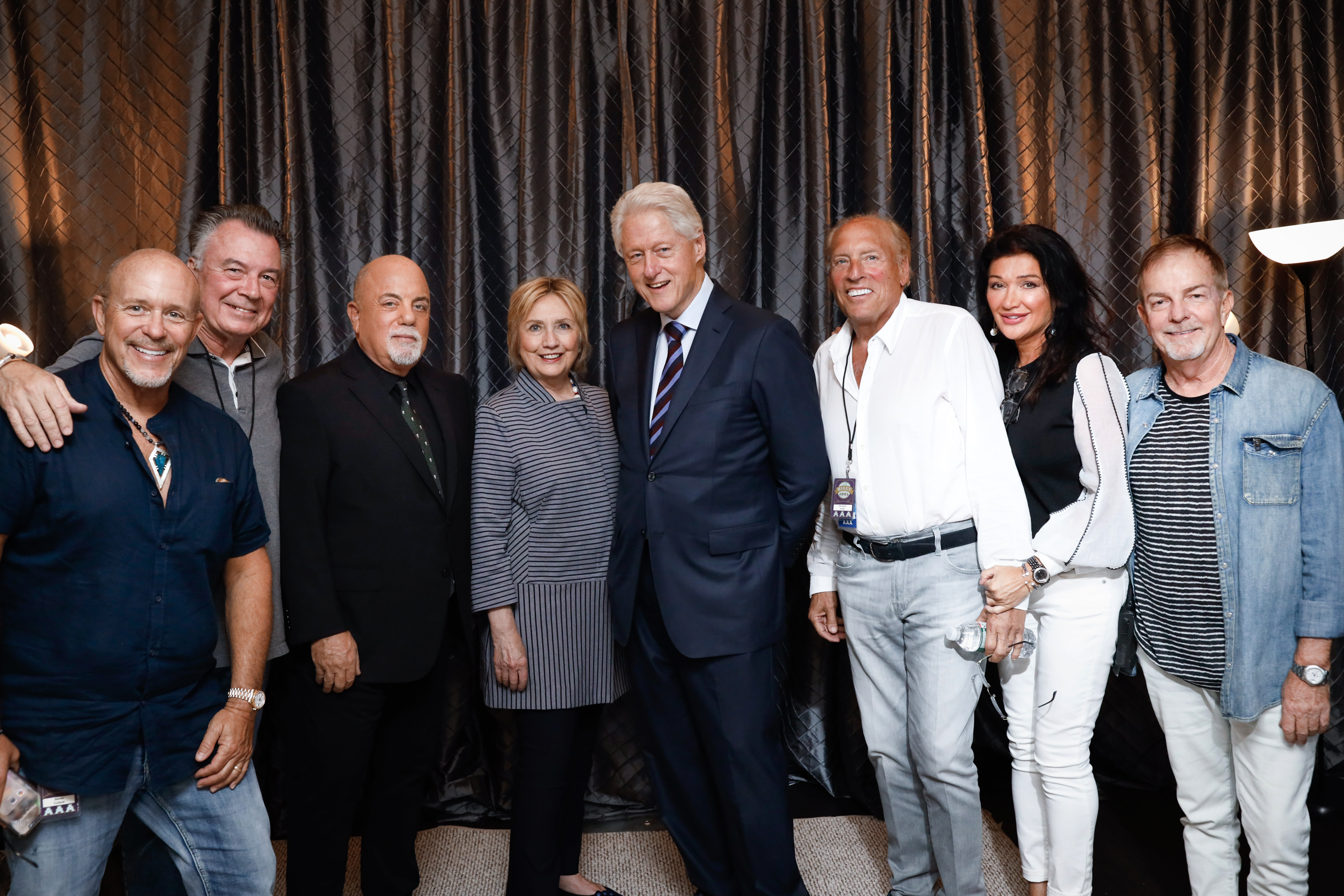 The Clintons Make An Appearance At Billy Joel's 66th Consecutive Show