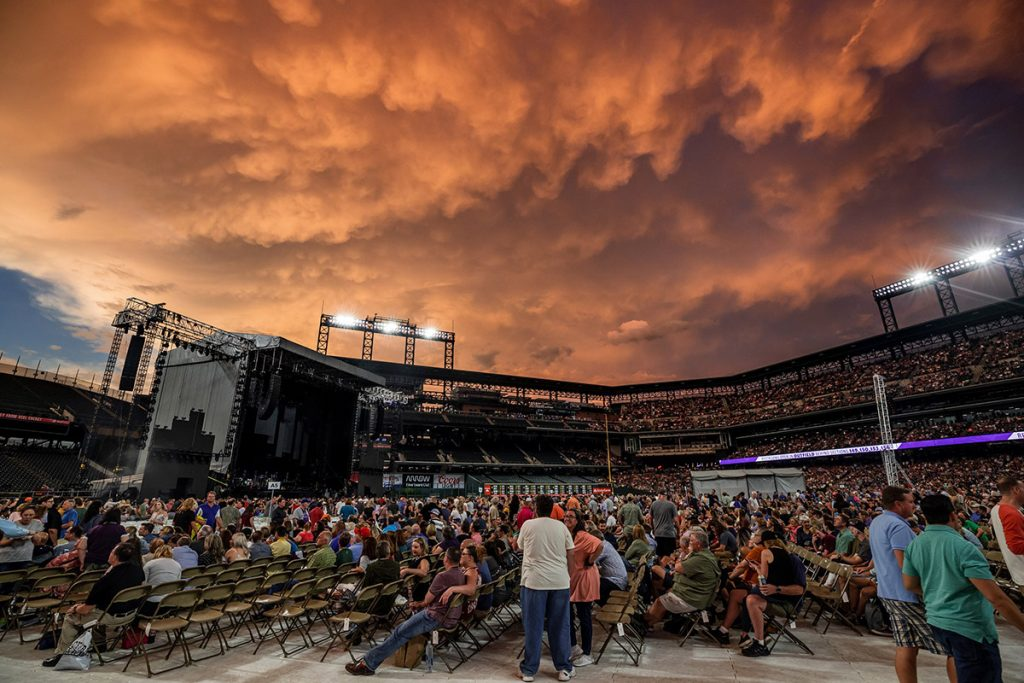 Billy Joel in concert at Coors Field in Denver, CO, August 8, 2019