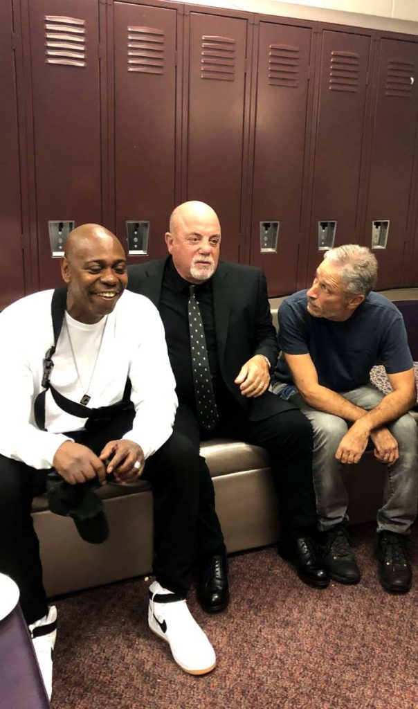 DAVE CHAPPELLE, BILLY JOEL, JON STEWART, RICHARD FRANKS PHOTO DENVER