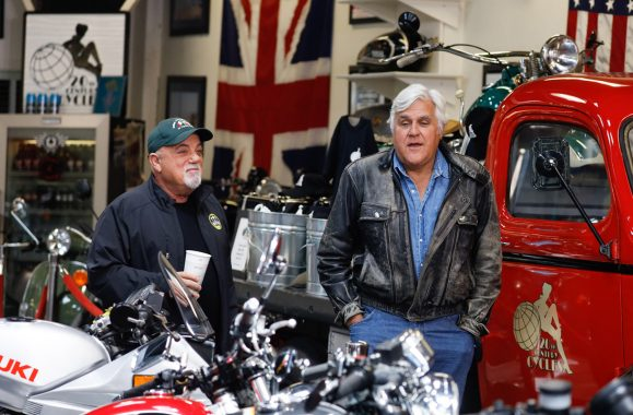 "Watch Billy Joel On ""Jay Leno's Garage"" Tonight On CNBC"