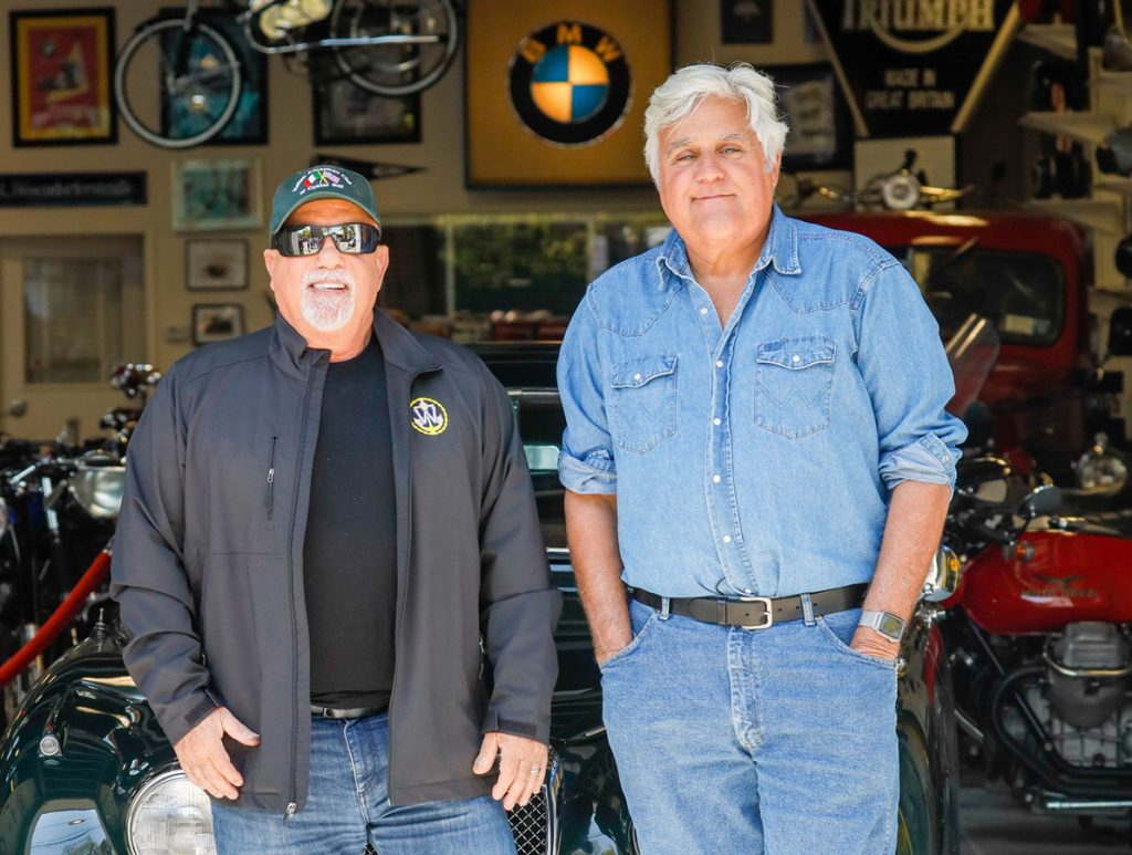 "Watch Billy Joel On ""Jay Leno's Garage"" Tonight On CNBC"
