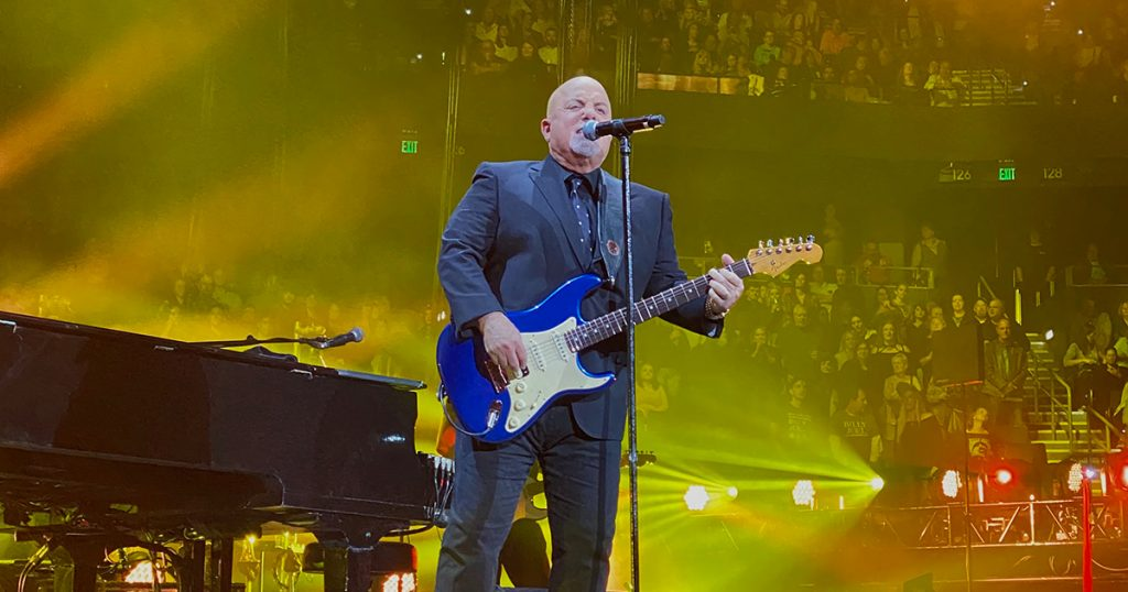 Billy Joel in concert at Amalie Arena in Tampa, FL, on February 7, 2020
