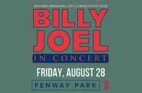 Billy Joel at Fenway Park – August 28, 2020