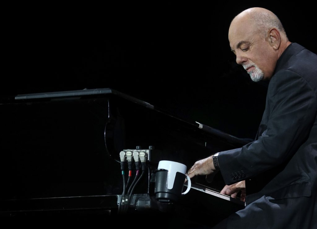 Billy Joel live in concert at Fenway Park in Boston, MA, on August 4, 2021