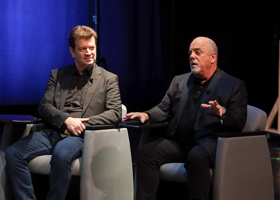 Billy Joel Supports The Long Island High School For The Arts At A Panel Discussion