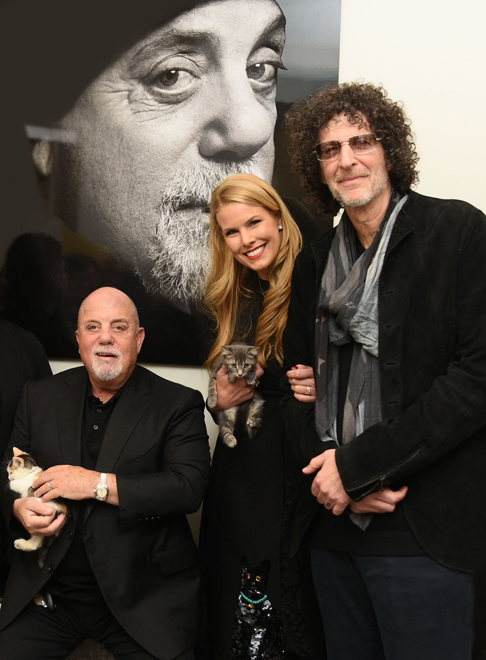Billy Joel, Beth Stern, Howard Stern celebrate North Shore Animal League America Bianca's Furry Friends Feline Adoption Center