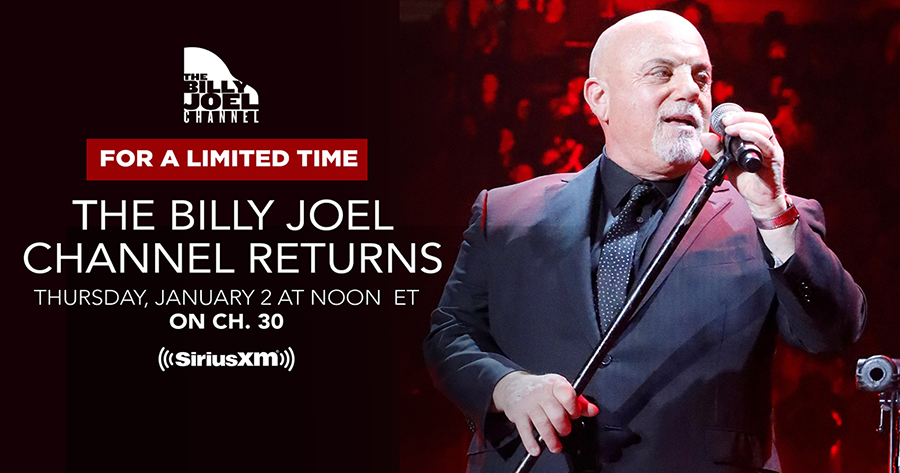 Billy Joel Channel To Return To SiriusXM Today
