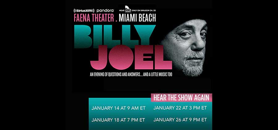 Don't Miss The Final Replays Of 'Billy Joel An Evening Of Questions And Answers… And A Little Music Too'