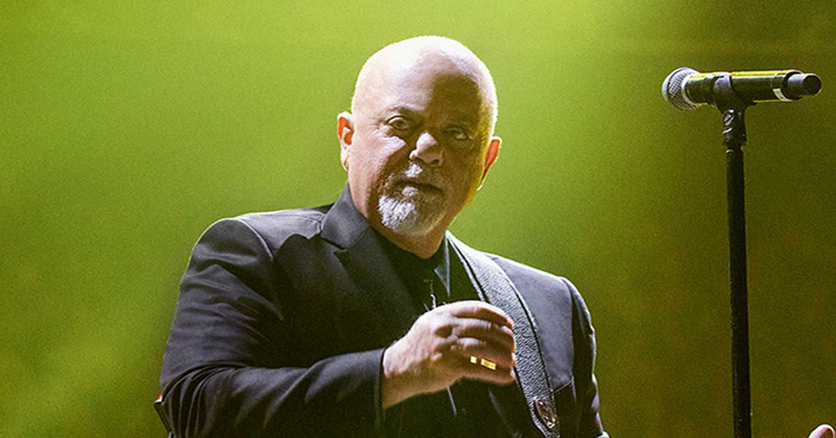 Billy Joel At MSG – April 8, 2022