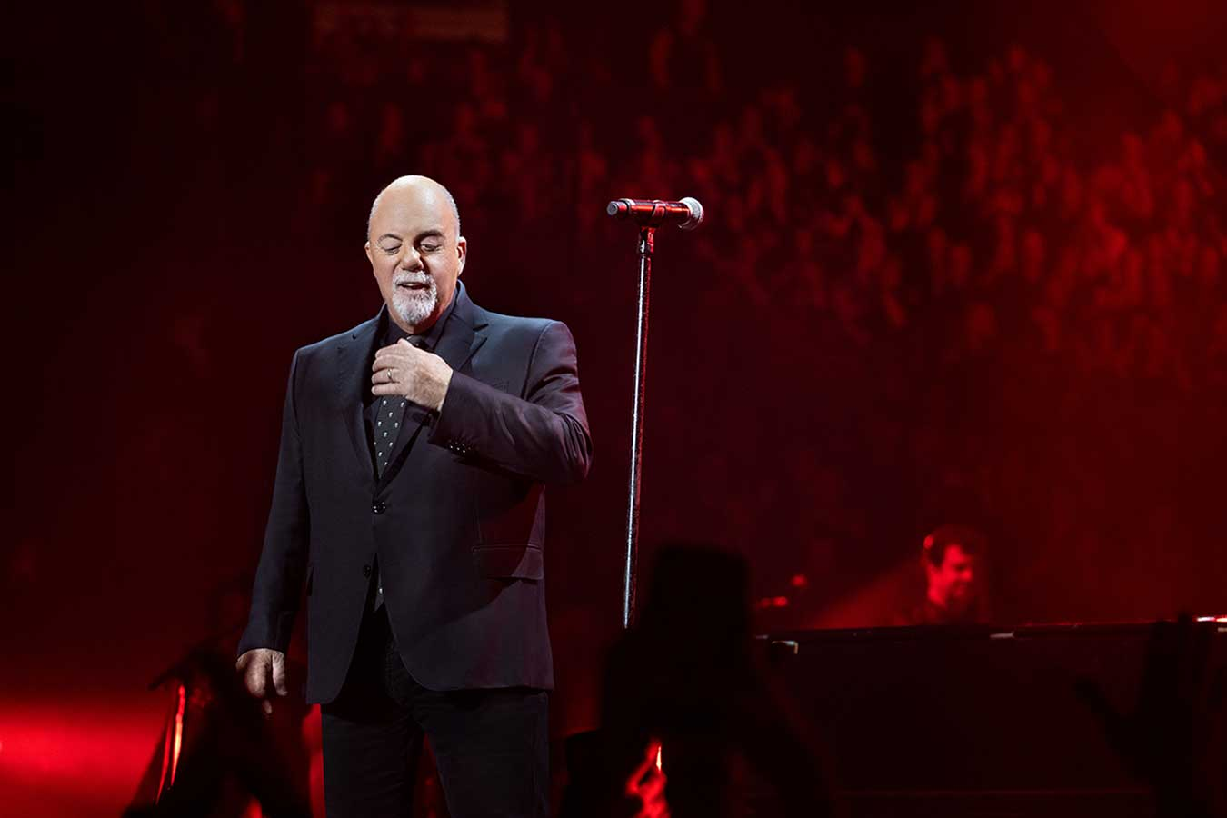 Congratulations to Billy Joel & Madison Square Garden on Their 31st Annual Pollstar Awards For Best Residency
