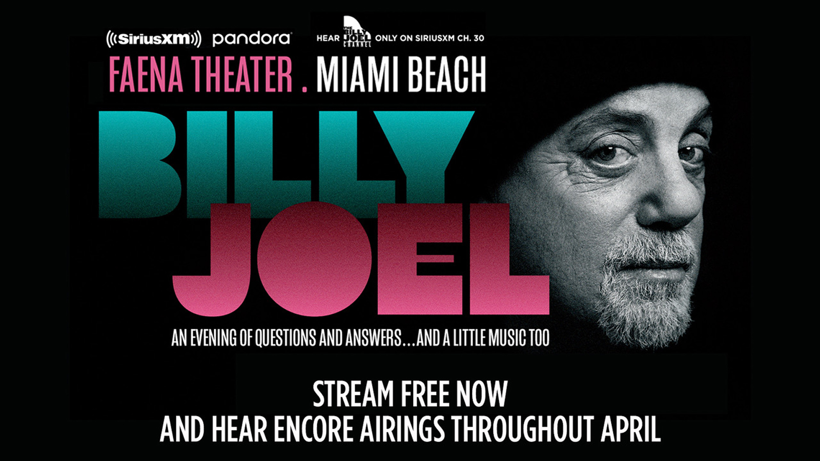 Billy Joel: An Evening of Questions and Answers…and a little music too