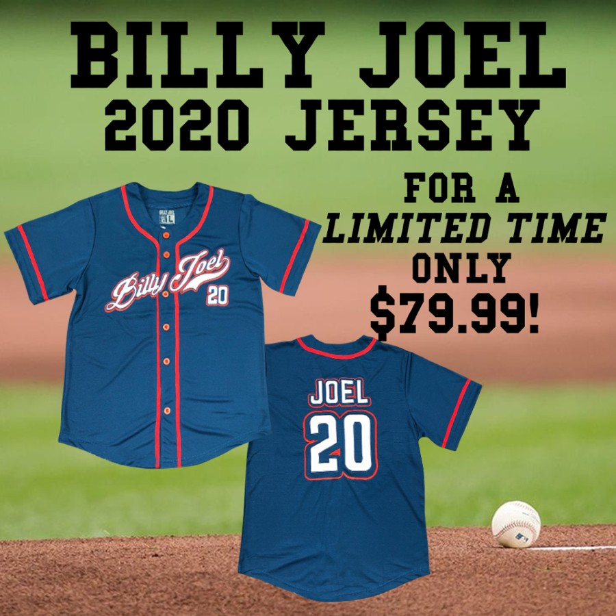 Grab Your Billy Joel 2020 Jersey Now