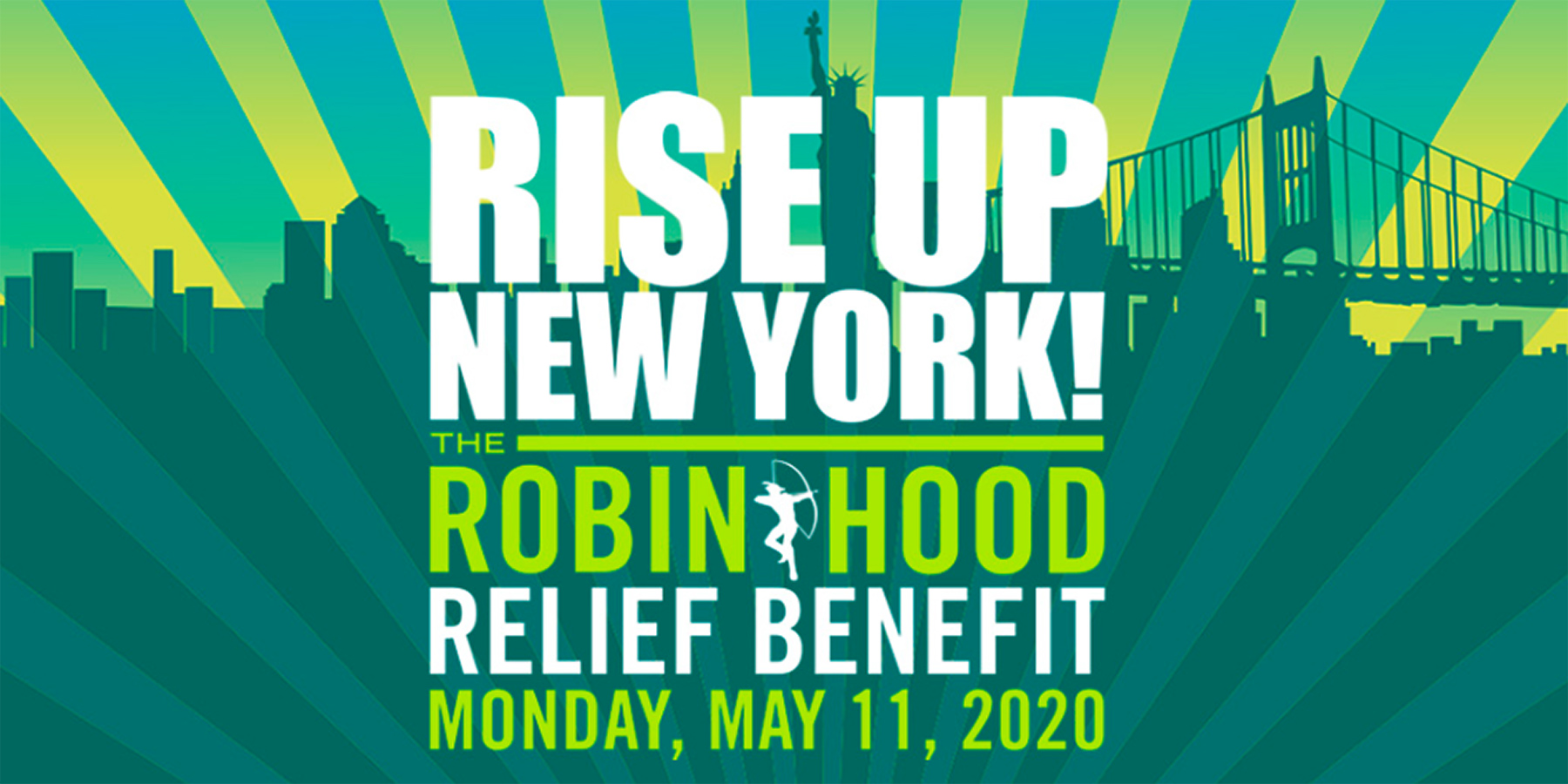 "Robin Hood and iHeart Media Announce ""Rise Up New York!"" Relief Benefit To Support New Yorkers Most Impacted By Covid-19"