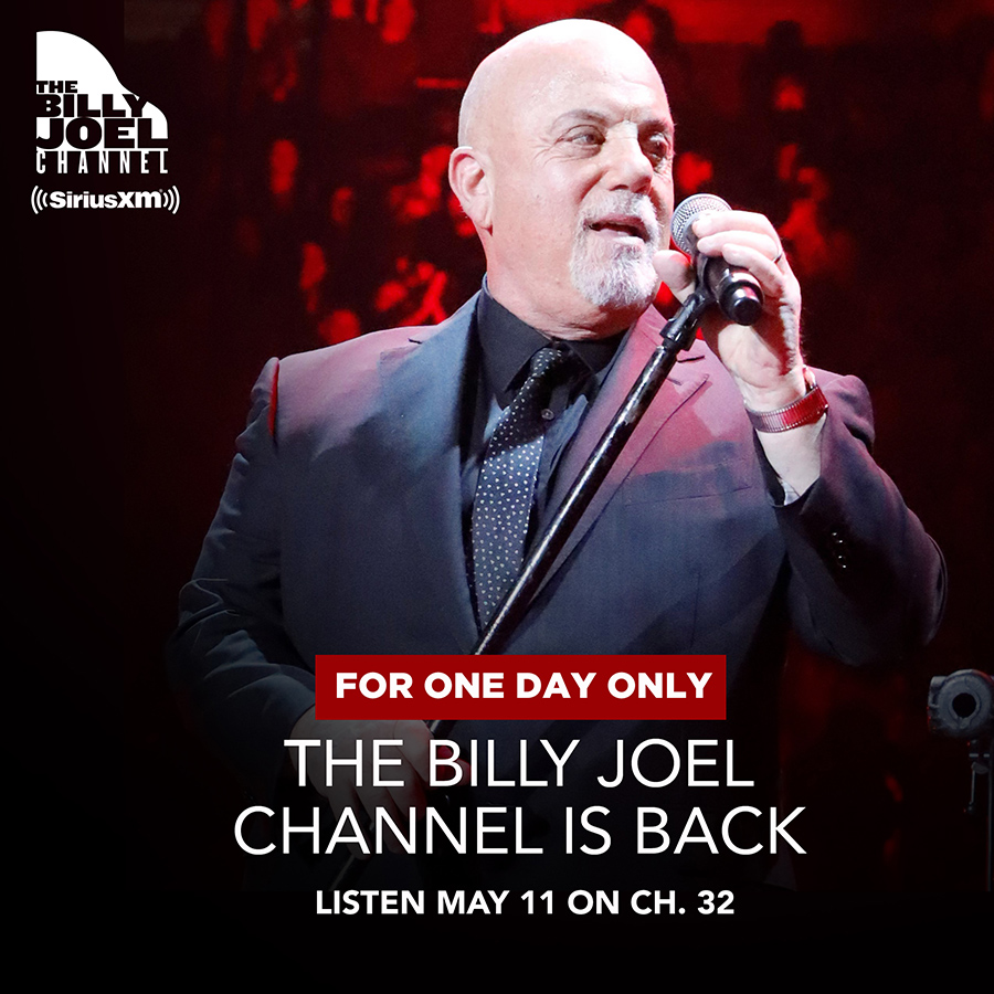 "SiriusXM's The Billy Joel Channel to Broadcast ""Rise Up New York!"" Relief Benefit To Support New Yorkers Impacted by Covid-19"