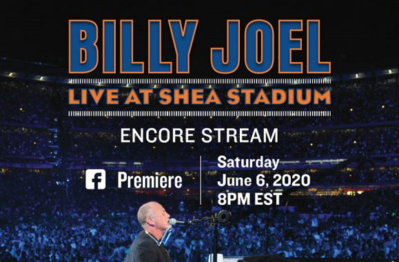Don't Miss An Encore Of 'Live at Shea' On Billy's Facebook This Saturday June 6th At 8PM ET!