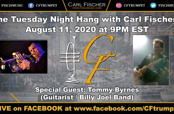 Join Carl Fischer For A Tuesday Night Hang On Facebook Live