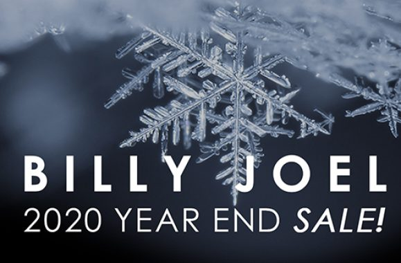 Visit The Billy Joel Shop For The Year End Sale