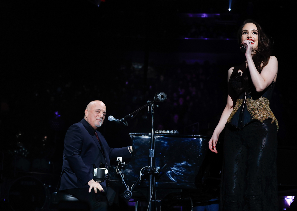 Billy Joel and Alexa Ray Joel at Madison Square Garden December 19, 2018