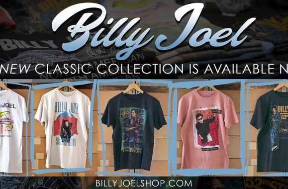 New Billy Joel Classic Collection Available Now!
