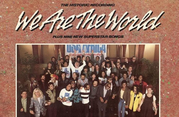 'We Are The World' Hit #1 In The UK This Day In Music History