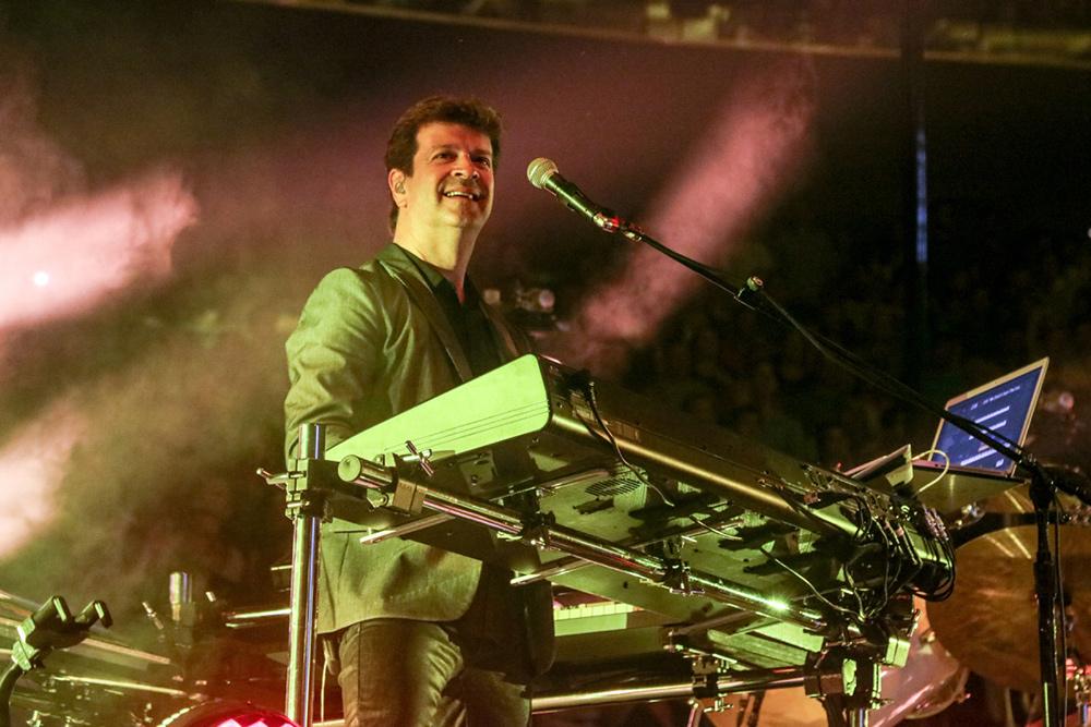 Keyboardist David Rosenthal