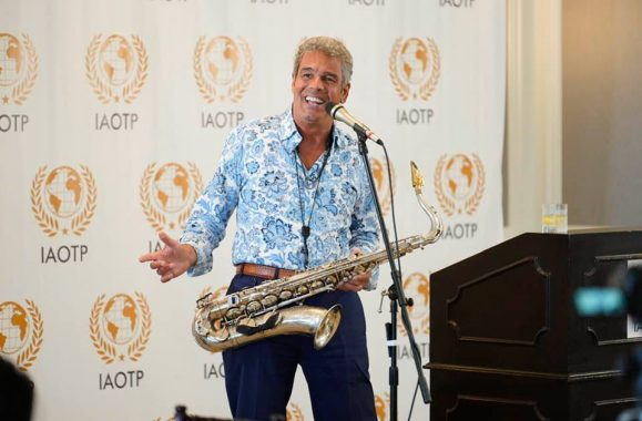 Mark Rivera Selected as Top Musician & Entertainer of the Year by IAOTP