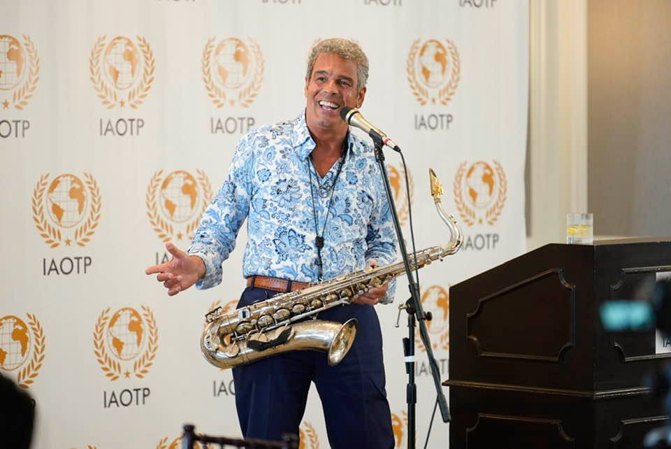 Mark Rivera IAOTP Top Musician and Entertainer of the Year