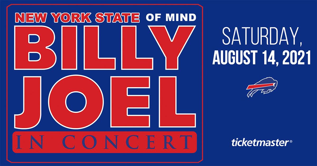Billy Joel at Highmark Stadium in Buffalo, NY, August 14, 2021