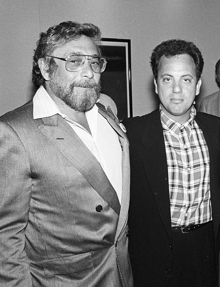 Billy Joel and Walter Yetnikoff