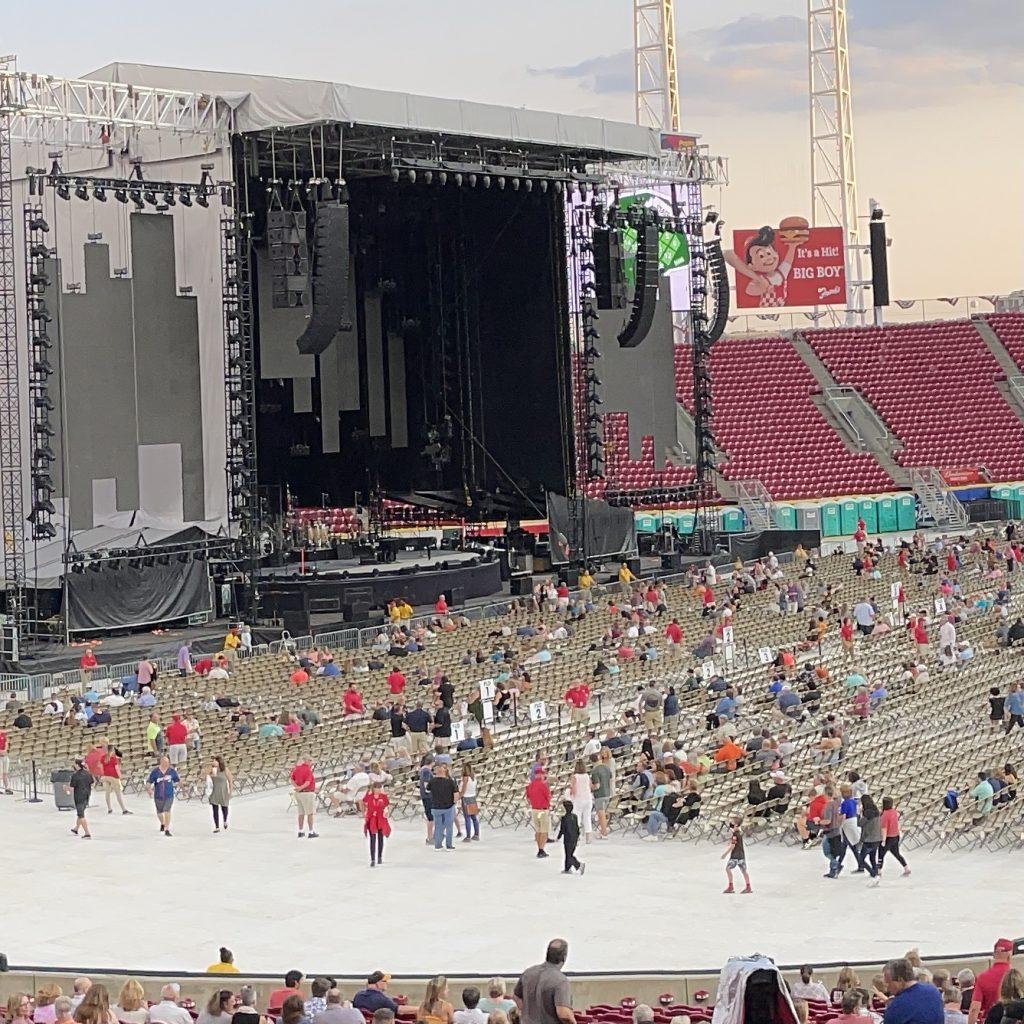 Great American Ball Park hosts Billy Joel