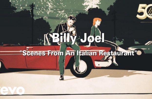 New Music Video For 'Scenes From An Italian Restaurant!'