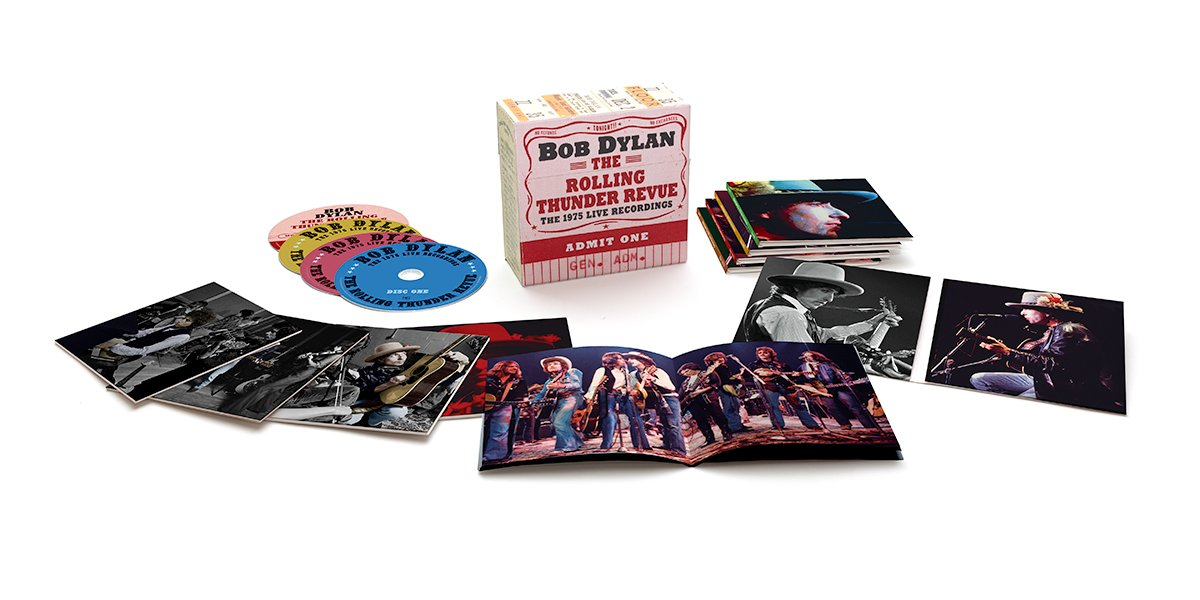 2071731d7 Bob Dylan – The Rolling Thunder Revue: The 1975 Live Recordings Now ...