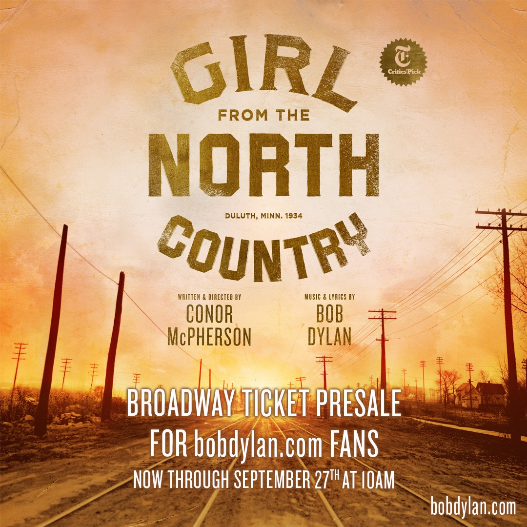 Girl from the North Country on Broadway