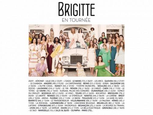 Brigitte – Tournée