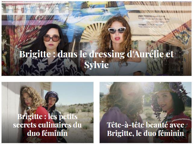 Brigitte rédac' chef du Journal des Femmes