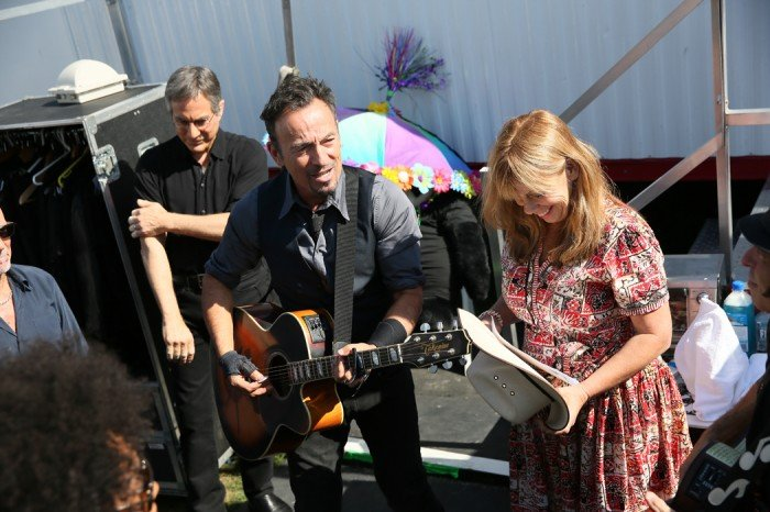 New Orleans Jazz Fest 2018 >> Photos from the road: New Orleans Jazz Fest May 3 » Bruce Springsteen