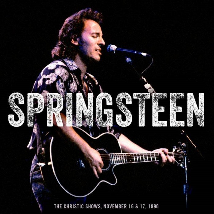 the legendary 1990 solo acoustic performances in support of the christic institute are among the most emotional and revealing of bruces career - Bruce Springsteen Christmas Album