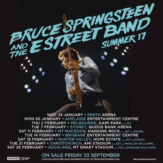 Announcing Tour Dates In Australia Amp New Zealand 187 Bruce
