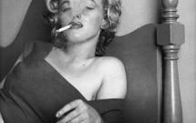 Smoking In Bed Marilyn Monroe