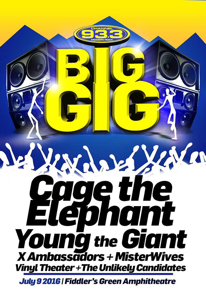 KTCL Channel 93 3's Big Gig | Cage The Elephant