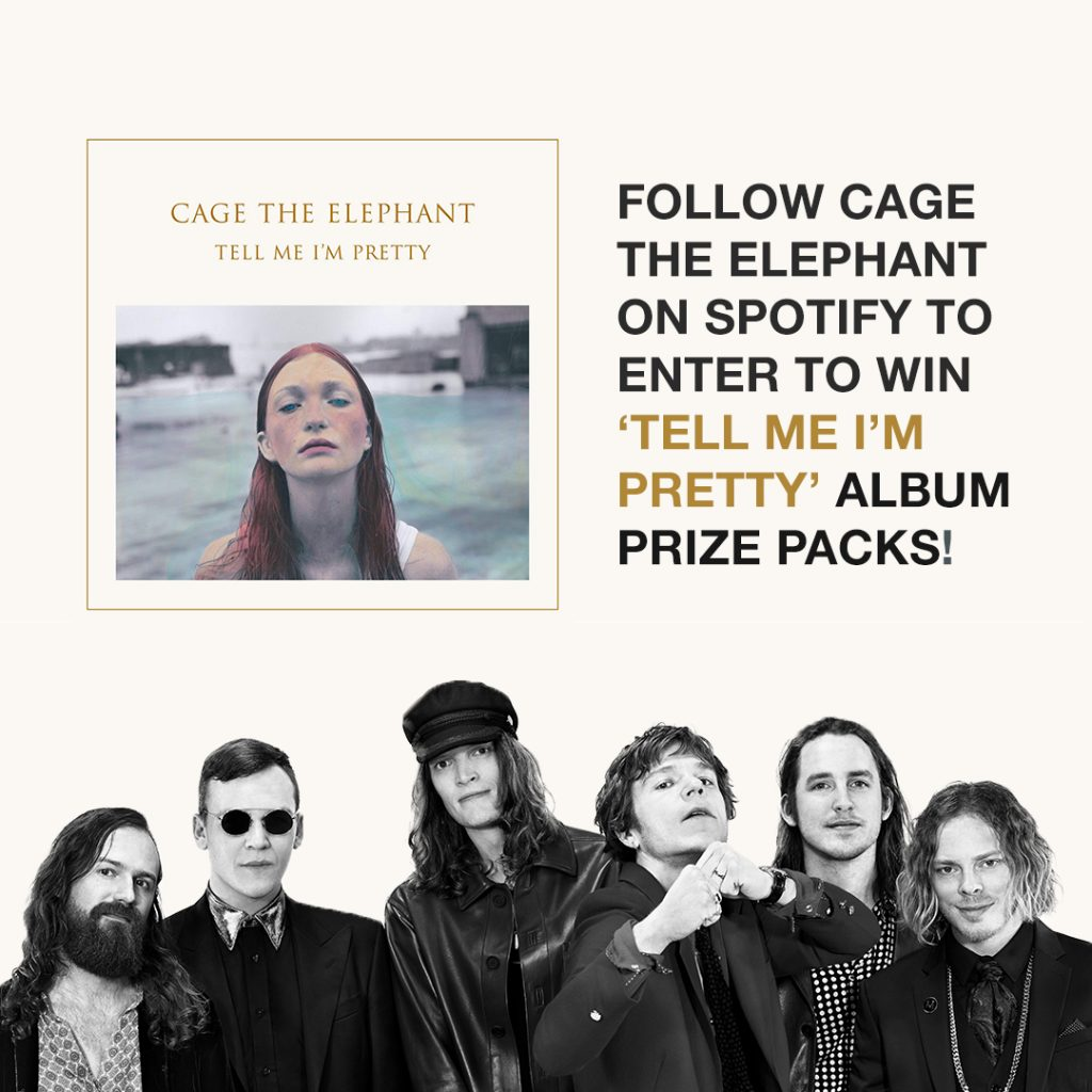 Tell Me I'm Pretty: Album Prize Packs