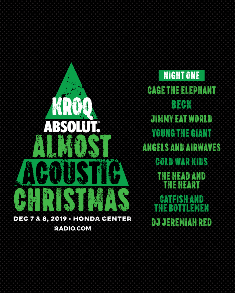 KROQ's Absolut Almost Acoustic Christmas