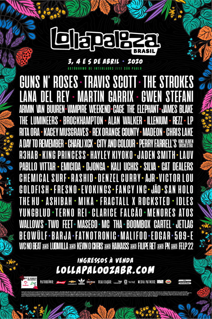 Lollapalooza South America 2020