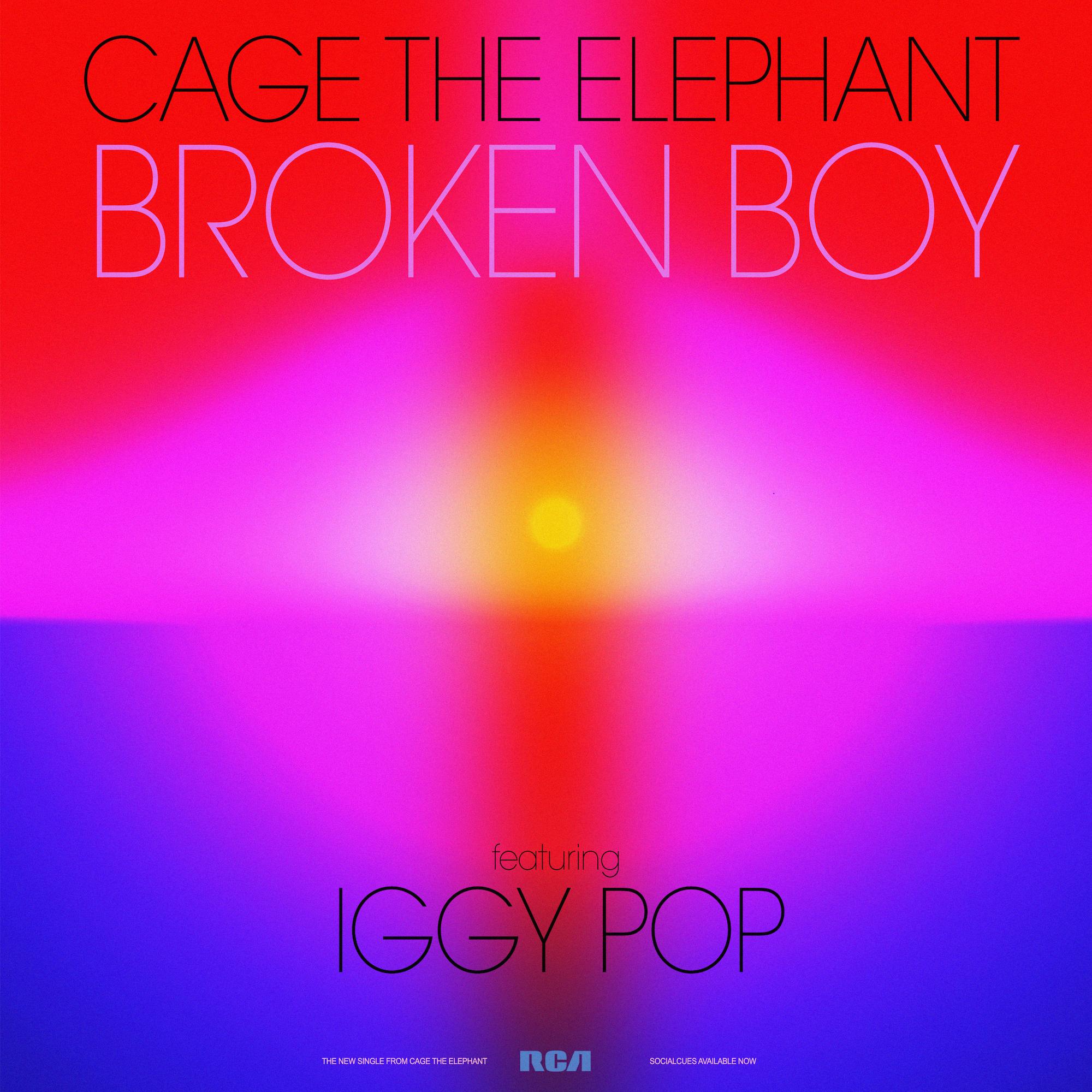 Broken Boy featuring Iggy Pop!