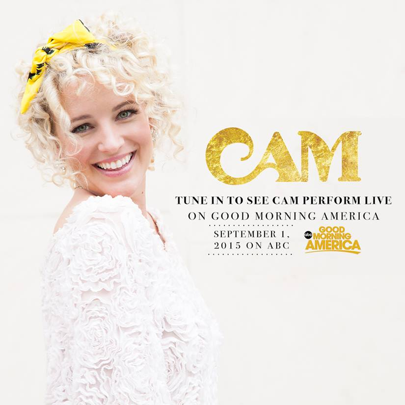 "Country Sensation Cam Makes Her Good Morning America Debut September 1 to Perform Her Breakout Hit, ""Burning House"""