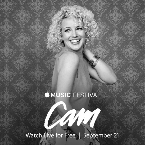 Cam to Perform at Apple Music Festival 2015