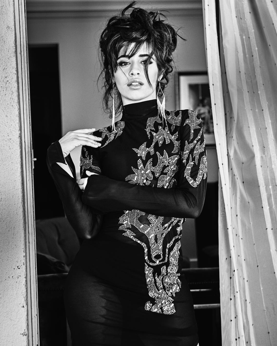 Camila Cabello gets a sultry makeover for the Guess holiday