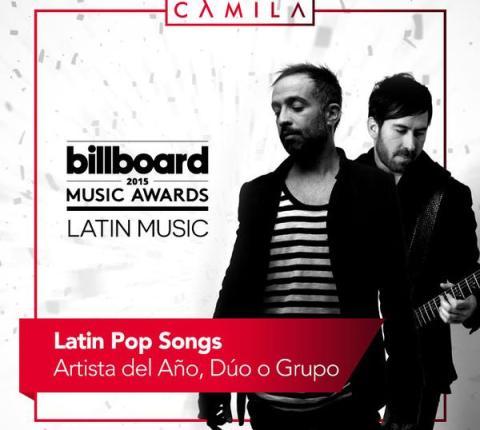 Camila Latin Billboard