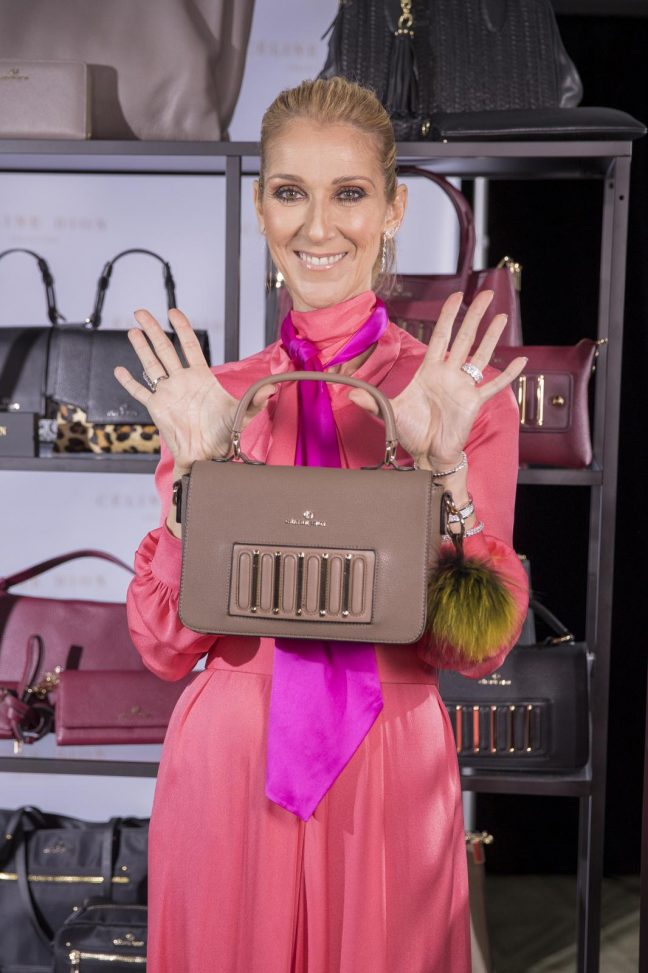 LAUNCH OF THE CELINE DION COLLECTION IN MONTREAL