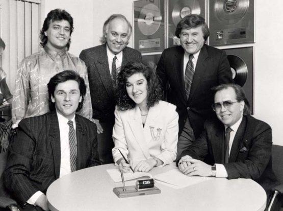 Celine Dion Signing